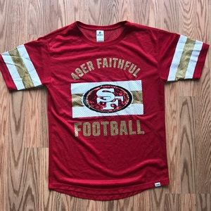 PINK VICTORIA'S SECRET | SF 49ers Sequin Jersey